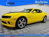 Camaro SS 2SS, 2D Coupe, 6.2L V8 SFI, 6-Speed Automatic