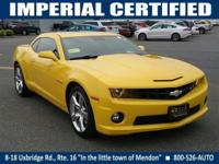 2SS trim. CARFAX 1-Owner, 12000 Mile Warranty LOW MILES