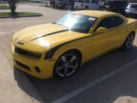 This 2010 Chevrolet Camaro 2SS is offered to you for