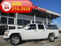 Save big on this one-owner Crew Cab 4X2, with Topper,