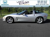 2010 Corvette 2LT 6-spd removable glass roof Dual Port