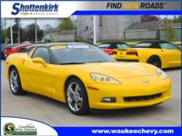 Options:  2010 Chevrolet Corvette|2Dr Coupe W/
