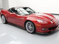 This awesome 2010 Chevrolet Corvette comes loaded with
