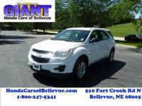 This outstanding example of a 2010 Chevrolet Equinox LS