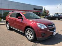 Red 2010 Chevrolet Equinox LT 1LT FWD 6-Speed Automatic