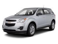 Used 2010 Chevrolet Equinox, key features include: