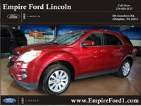 Options:  2010 Chevrolet Equinox Lt|Awd Lt 4Dr Suv