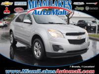 *** MIAMI LAKES CHEVROLET *** Passenger accommodations.