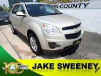 Our One Owner 2010 Chevrolet Equinox 1LT is practically