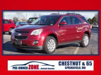 2010 Chevrolet Equinox LT in Cardinal Red Metallic with