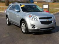 New Price! This 2010 Chevrolet Equinox LTZ in Silver
