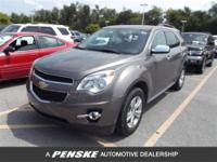 EPA 29 MPG Hwy/20 MPG City! CARFAX 1-Owner. LT with 2LT