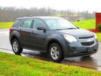 One owner, non-smoker 2010 Chevrolet Equinox LS in