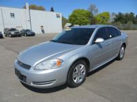 This 2010 Chevy Impala is a full-size four-door sedan