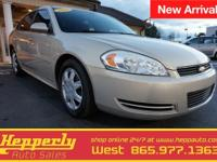 Featuring is our 2010 Chevrolet Impala. The impala is
