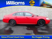Options:  2010 Chevrolet Impala Ls|Red|Abs Brakes|Am/Fm