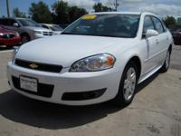 Options Included: N/A2010 Chevy Impala LT White, 10400