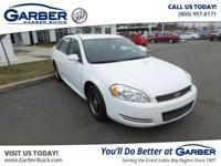 2010 Chevrolet Impala Police! Featuring a 3.9L V6 and