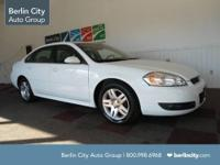 Berlin City Certified 2010 CHEVY IMPALA LT sedan with