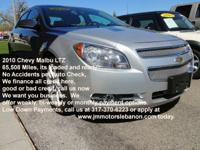 This 2010 Chevrolet Malibu LTZ has no accidents ever