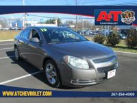 Clean CARFAX. Mocha Steel Metallic 2010 Chevrolet