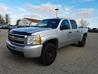 Options:  2010 Chevrolet Silverado 1500 Lt|Silver|Just