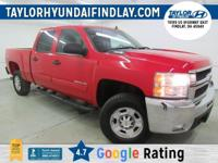 2010 Red Chevrolet Silverado 2500HD LT    Duramax 6.6L