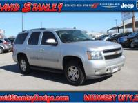 CARFAX One-Owner. Silver 2010 Chevrolet Tahoe RWD
