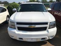 Options:  2010 Chevrolet Tahoe Lt|White/|V8 5.3L
