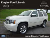 Options:  2010 Chevrolet Tahoe Ltz|4X4 Ltz 4Dr