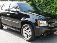 New Price! Black 2010 Chevrolet Tahoe LTZ 4WD 6-Speed