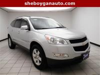 Silver Ice Metallic 2010 Chevrolet Traverse LT **