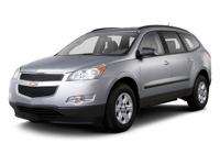 2010 Chevrolet Traverse LT. 1-Owner. Clean Carfax. 3RD
