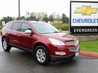 Options:  2010 Chevrolet Traverse Lt|Red|Awd. What Are