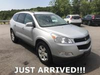 Accident Free Carfax!! 2010 Chevrolet Traverse LT Cloth