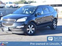 Tried-and-true, this 2010 Chevrolet Traverse LT w/2LT