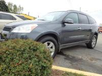 Options:  2010 Chevrolet Traverse Lt 4Dr Suv