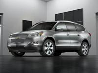 Clean CARFAX. Red 2010 Chevrolet Traverse LTZ AWD