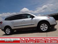 This is one Sharp Chevy Traverse LS!! This Traverse was