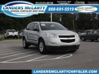 This 2010 Chevrolet Traverse LS has 66,184 miles!