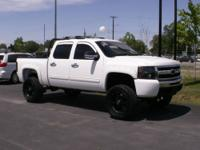 2010 Chevrolet 1500 Crew Cab 4WD $29,995 LIFTED AND