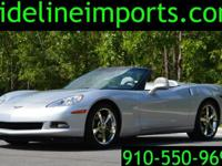 2010 Chevrolet Corvette Conv. 3LT loaded with options.