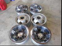 These are rims off of my 2010 chevy 3500 dually. bolt