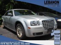 2010 Chrysler 300 Touring Bright Silver Metallic RWD