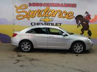 2010 Chrysler Sebring Limited, Silver, Alloy rims,