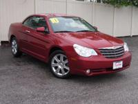 2010 Chrysler Sebring Limited LEATHER, CLEAN CARFAX,