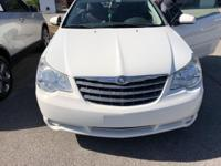 This 2010 Chrysler Sebring Touring in White features: