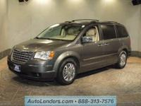 This CERTIFIED preowned 2010 CHRYSLER TOWN &
