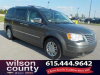 2010 Chrysler Town & Country Limited 4.0L V6 SOHC Dark