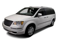 2010 Chrysler Town & Country White  Lx Cloth.  Could